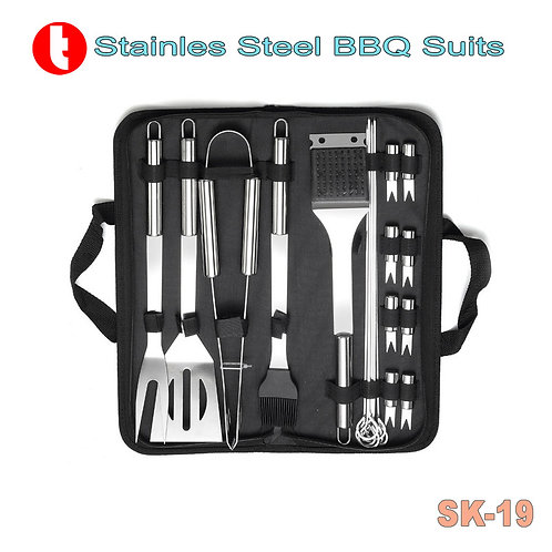 SK-19, Professional BBQ Fan's Tools Suit