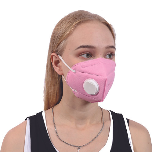 M9600V, anti-fog particulate respirator face mask with valve