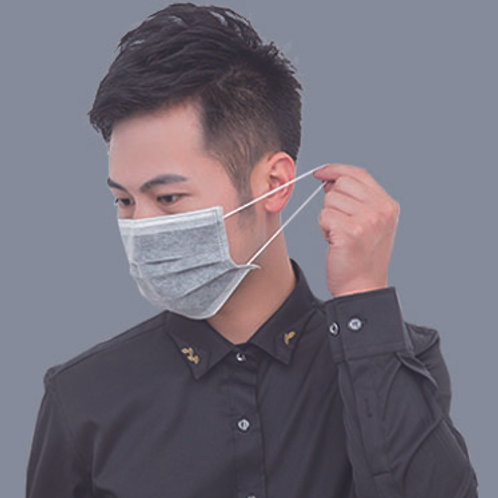 M001,3 ply disposable facial mask for medical use anti fog.