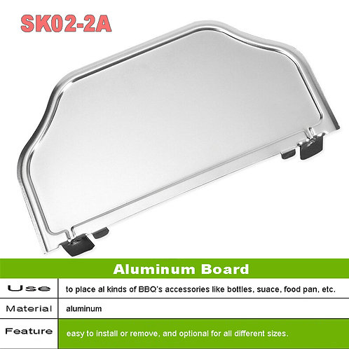 SK02-2, Aluminum Board BBQ Grills Accessories.