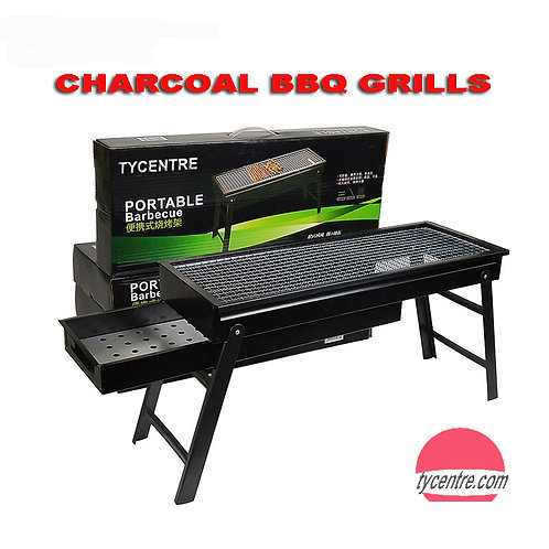 DS-05, 65cm Medium BBQ  Charcoal Grill Portable Stainless Steel for Family Camp