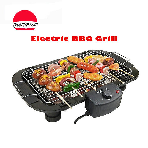DS-39E, Portable Electric Grill with 5 Levels for Backyard and Home Garden BBQ