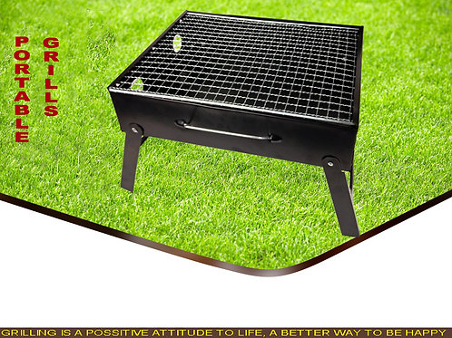 DS-06, Table BBQ  Charcoal Grill Portable Stainless Steel for Famil