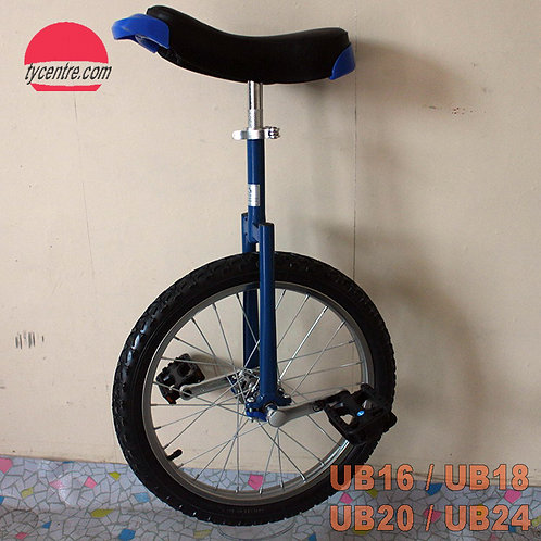 UB-18SB, 18 inches unicycle with different tires and rims