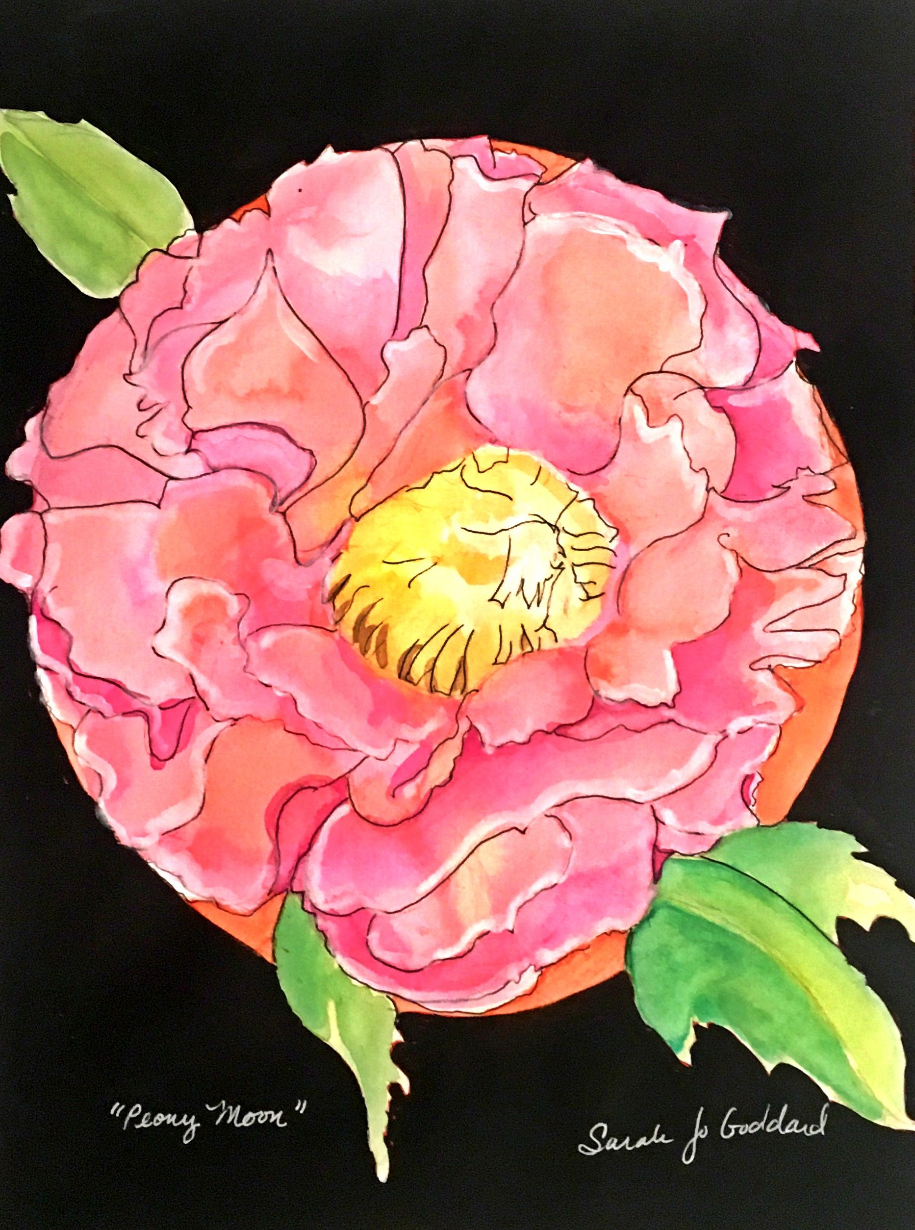 Chinese Peony Moon (April)