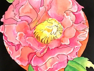 Peony Moon, April Moon, Chinese Collection