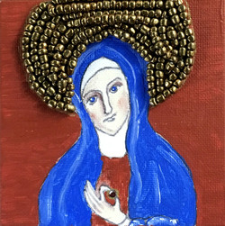 St. Julian of Norwich with Hazelnut
