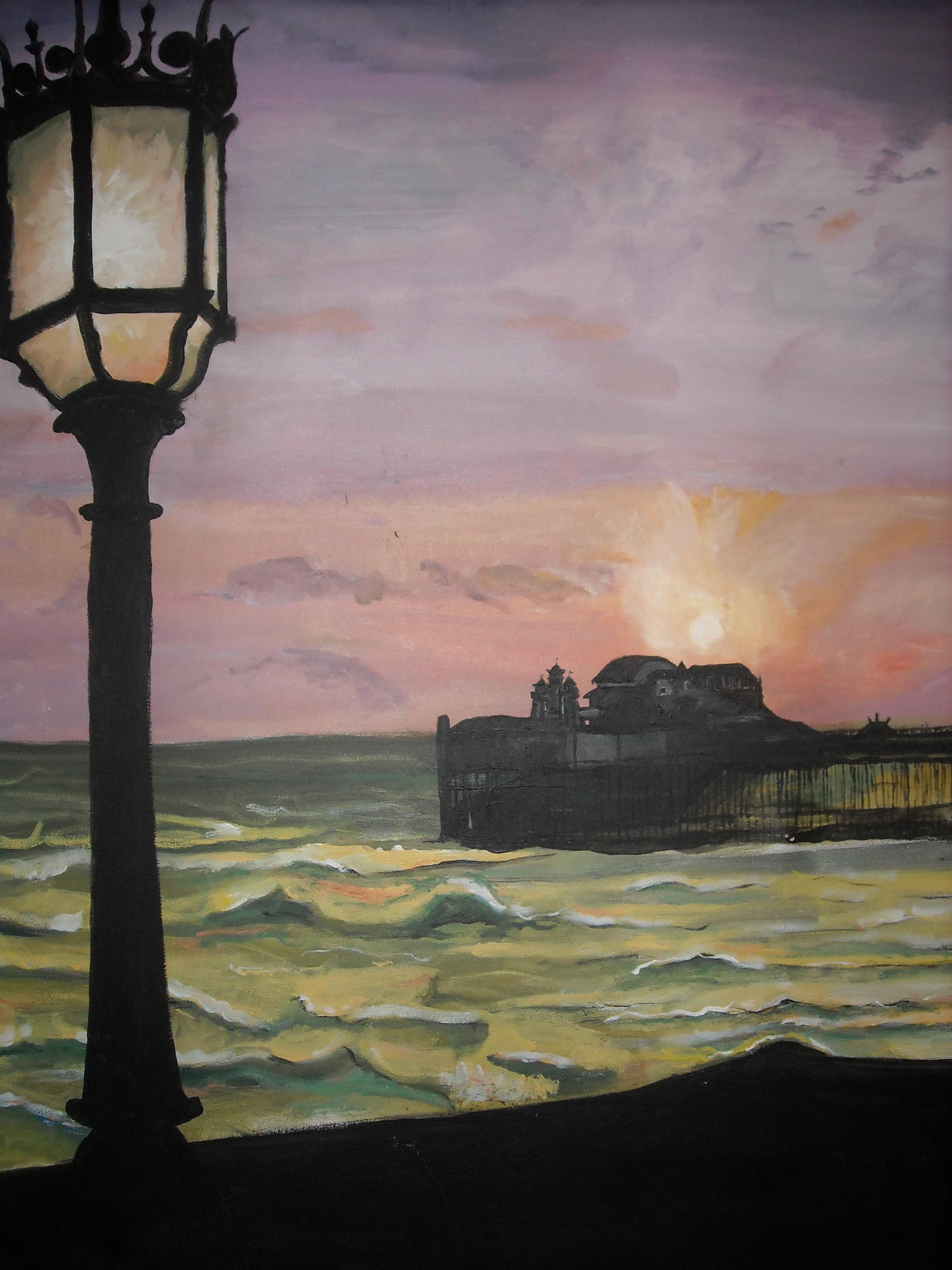 Evening Pier