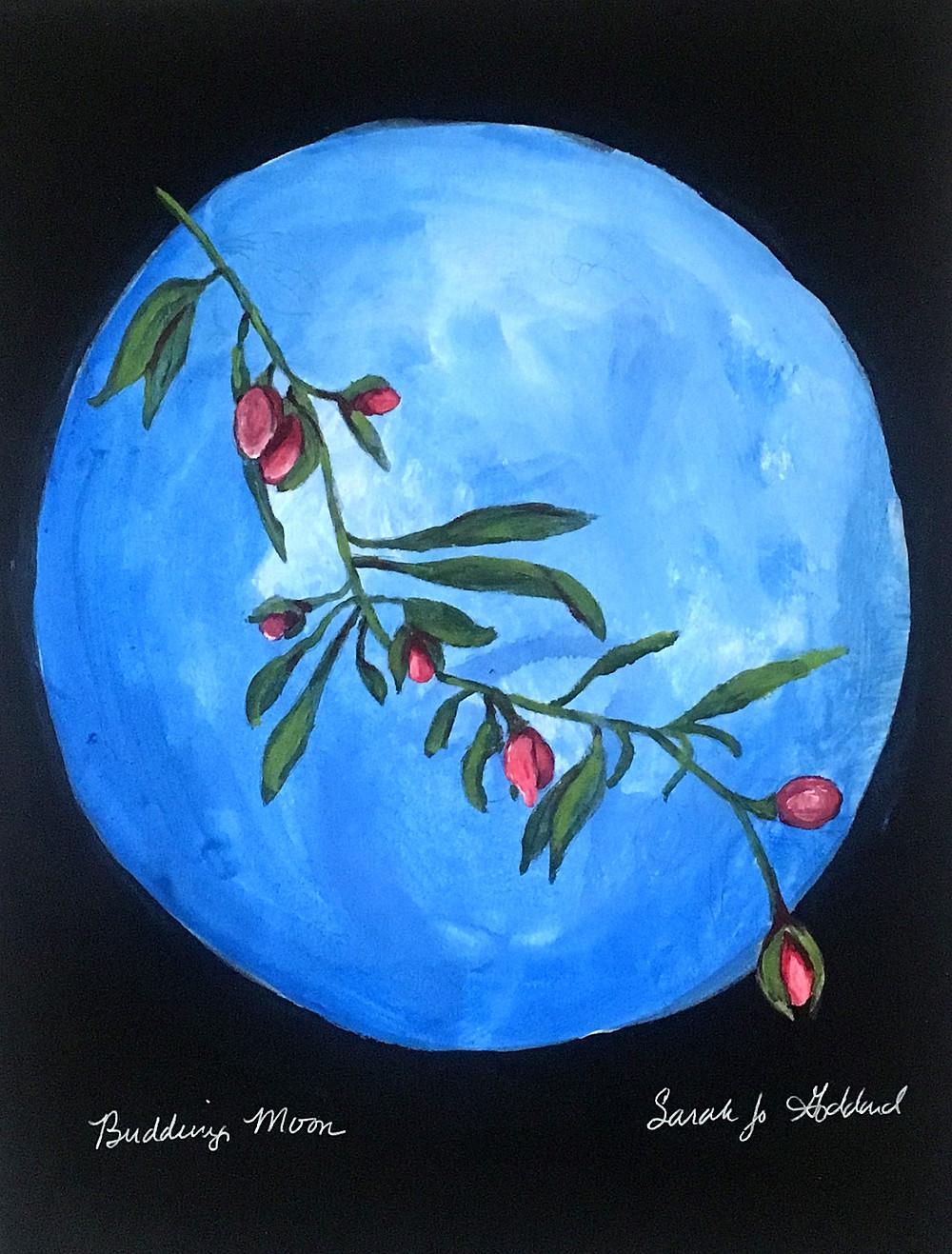 Budding Moon