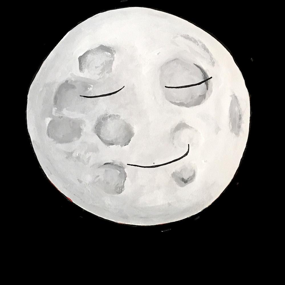 Sleepy Moon