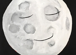 Sleepy Moon, March Moon, Chinese Collection