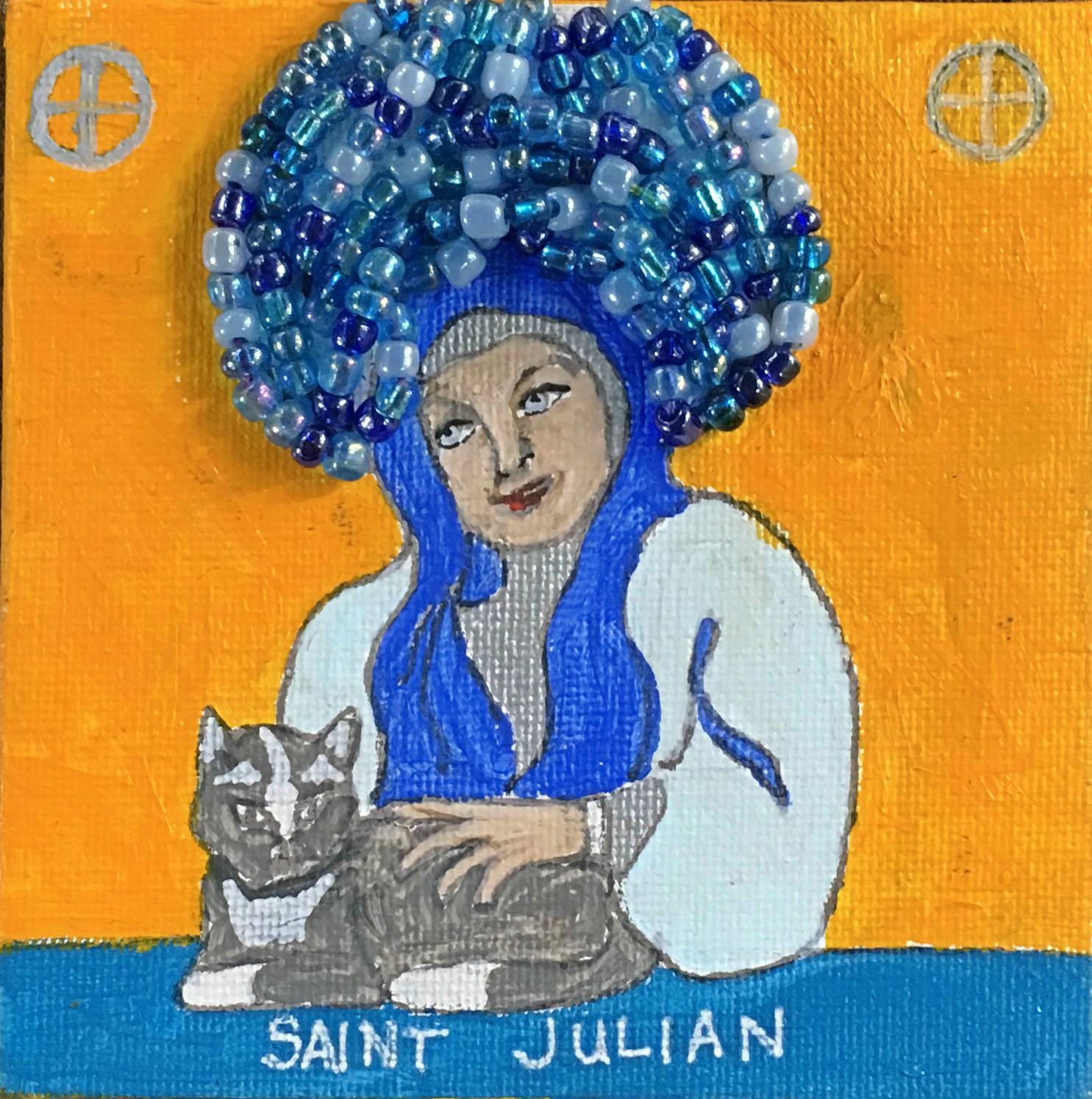 Julian of Norwich with Cat