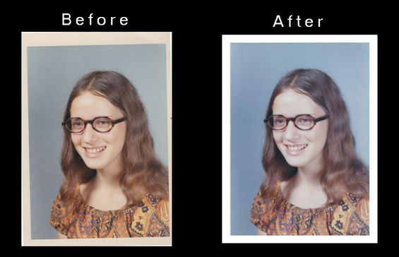 Color correction and repair