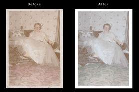 Vintage clean and repair
