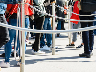 Enhancing event security without inconveniencing visitors