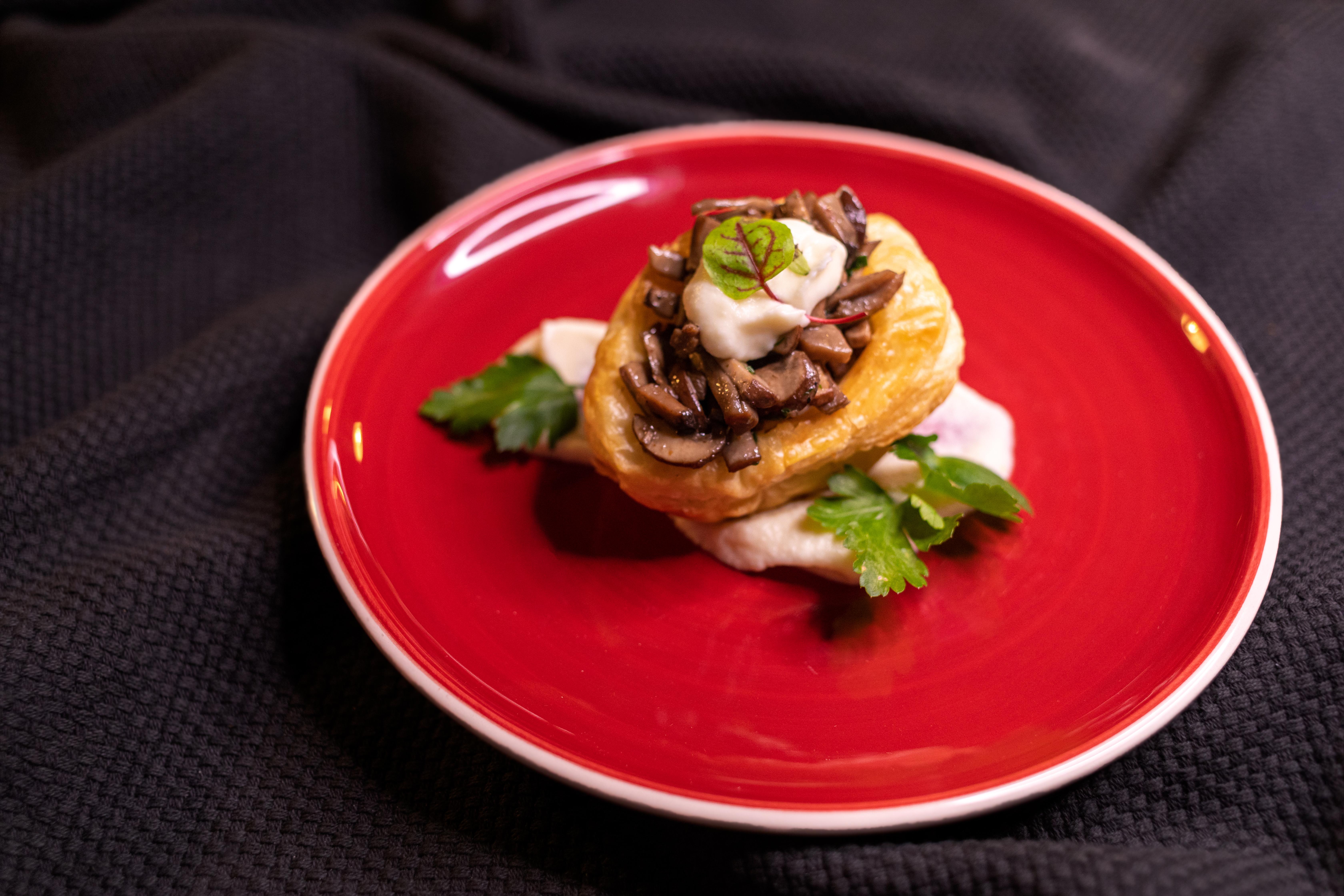 Jantares de Grupo - Vol Au Vent de Cogumelos