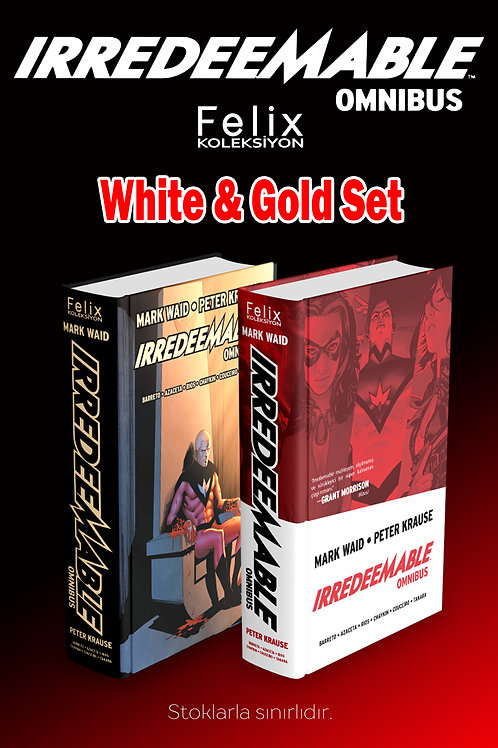 IRREDEEMABLE White & Gold Set