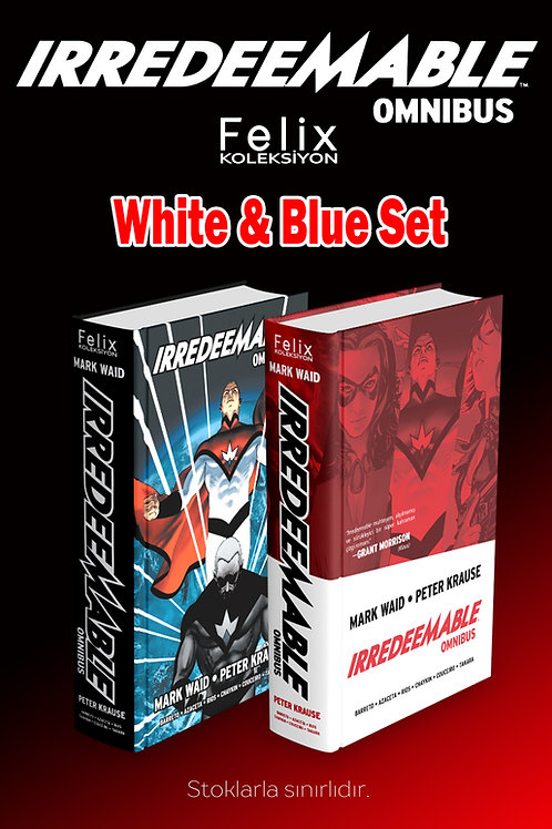 IRREDEEMABLE White & Blue Set