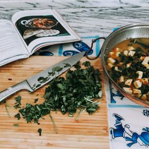 Vegan Saag Tofu