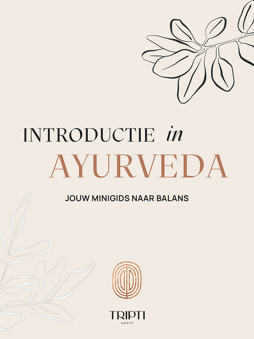 Introductie in Ayurveda