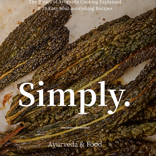 ENG_Simply. Ayurveda & Food E-booklet