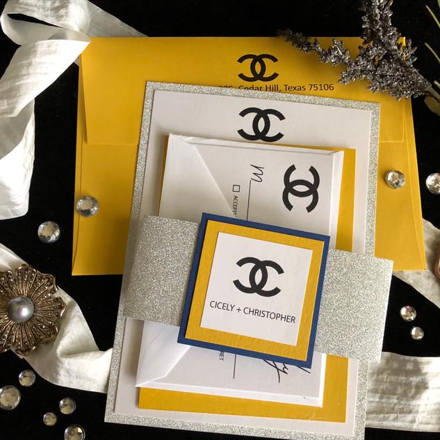 Monogram Wedding Suite