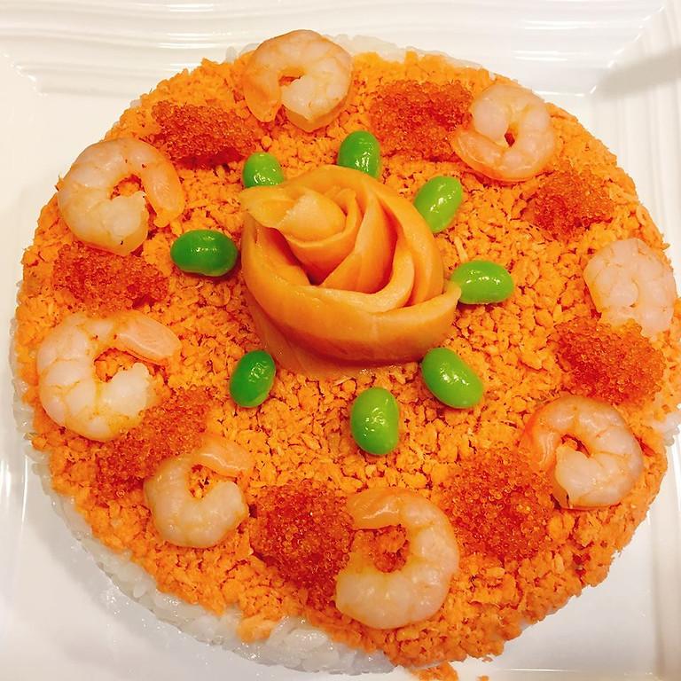 『インスタライブ 食物アレルギー配慮寿司ケーキを作ろう♪♪&相談会』  (1)