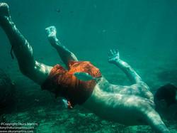 Orange Swim Trunks - Series B (2)