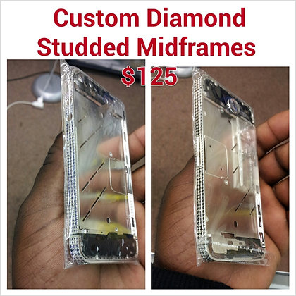 Iphone 4 & 4s Custom Diamond Midframes