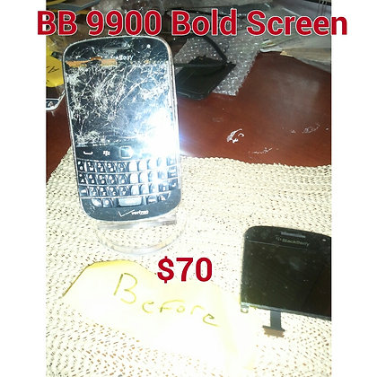 Blackberry Bold 9900 Screen Repair