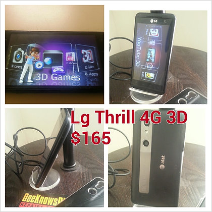 Lg Thrill 4g 3d for AT&T