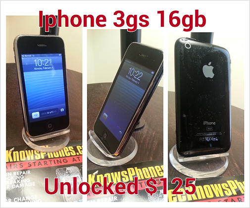 Iphone 3gs 16g gb Unlocked