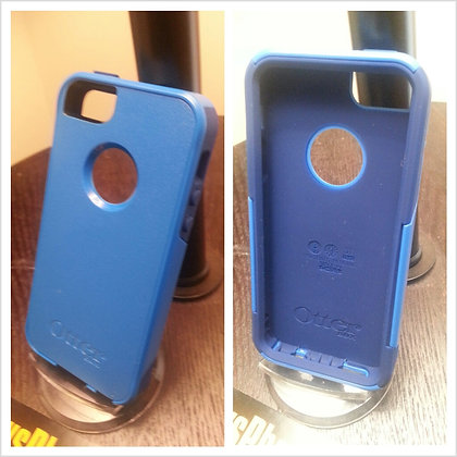 Iphone 5 Otter Box Commuter case (Blue)