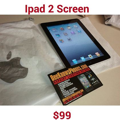 Ipad 2nd Gen Screen Repair (blk or white)