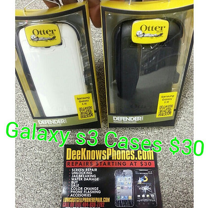 Samsung Galaxy S3 Otter Box Case with Belt Clip