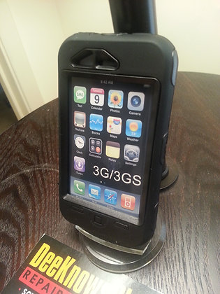 Iphone 3g & 3gs 2 layer Case (black)