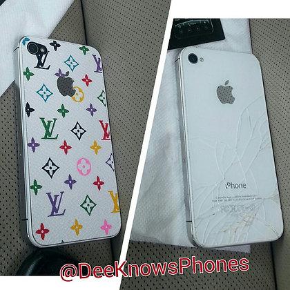 Iphone 4s Louis Vuitton Back