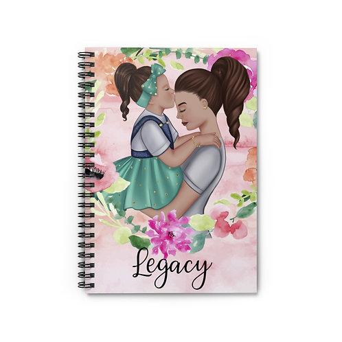 Legacy Spiral Notebook (Blue)