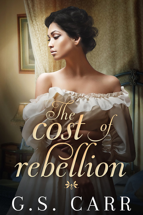 The Cost of Rebellion signed paperback