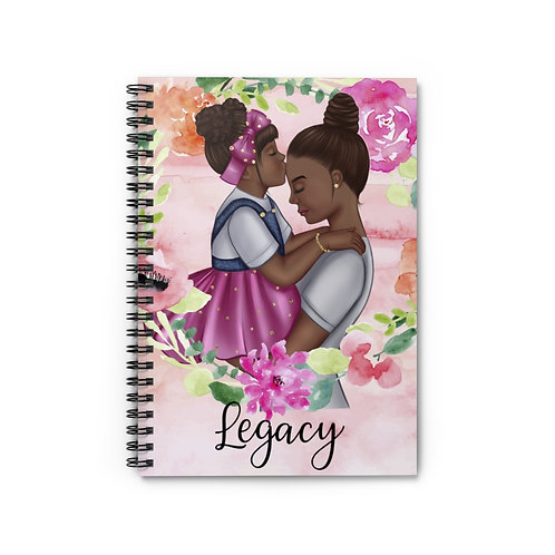 Legacy Spiral Notebook (Pink)