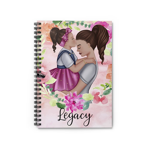 Legacy Spiral Notebook (Pink)