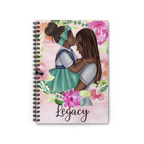 Legacy Spiral Notebook (Blue)