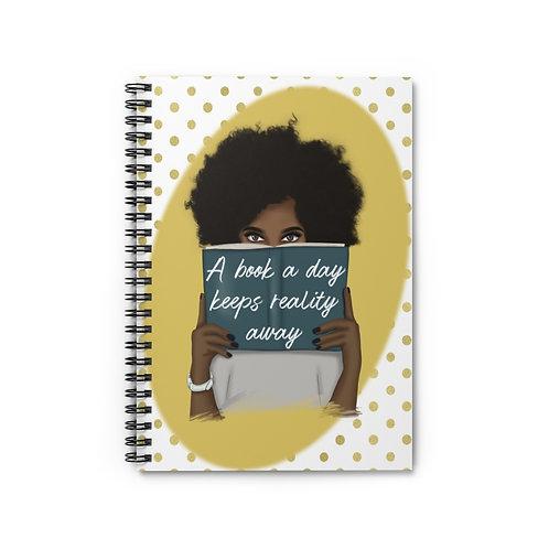 A book a day Spiral Notebook