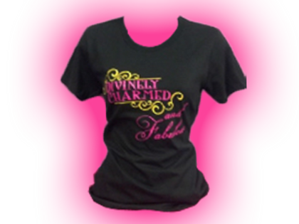 Divinely Charmed & Fabulous Tee shirt