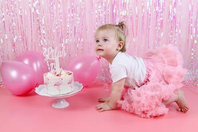 Lilah's Cake Smash