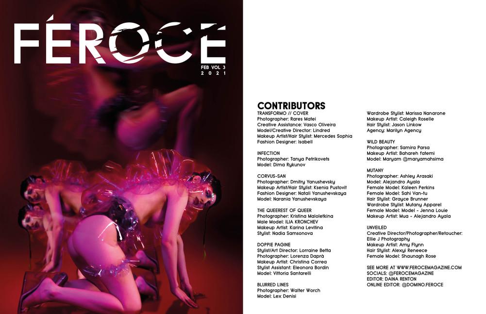Féroce Magazine - February 2021 - Vol 3
