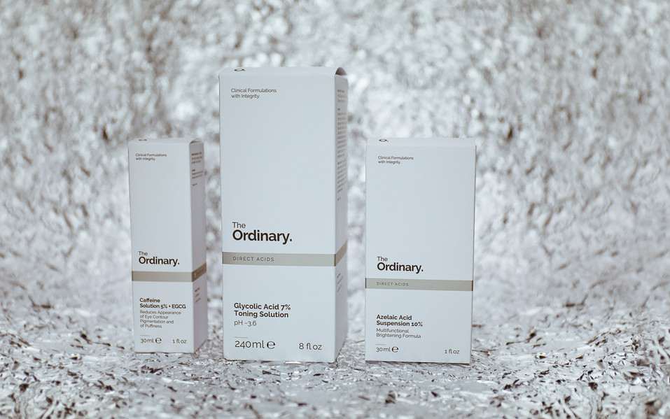 Skincare by The Ordinary