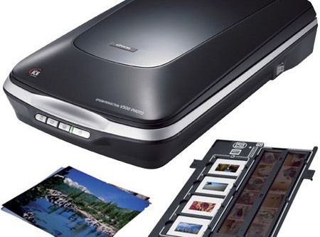 Digitize Photos at home with a Scanner