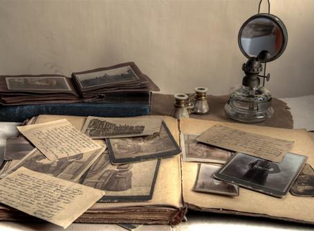 Preserve Old Family Media  — 3. Paper