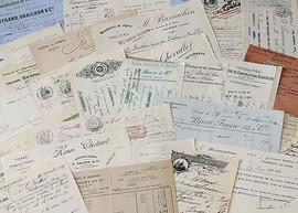 """Vintage """"Important"""" Documents"""